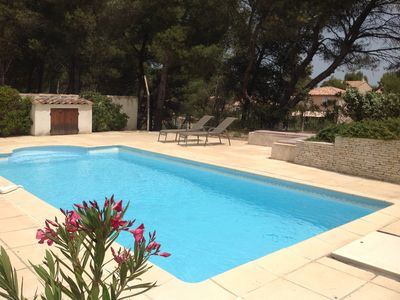 Photo for Villa for up to 11 people with private pool in Pont Royal golf estate