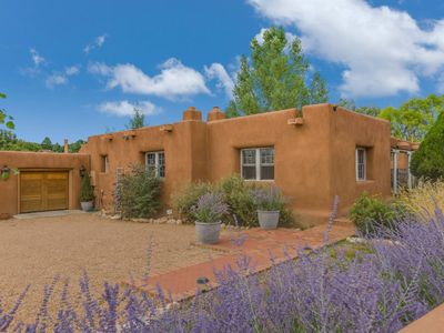 Photo for Luxury Adobe Home, On Canyon Road, Amazing Views