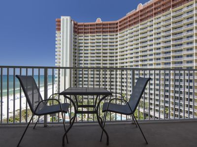 Photo for Shores of Panama 9th Flr, Sleeps up to 6!  Sunset and gulf view.