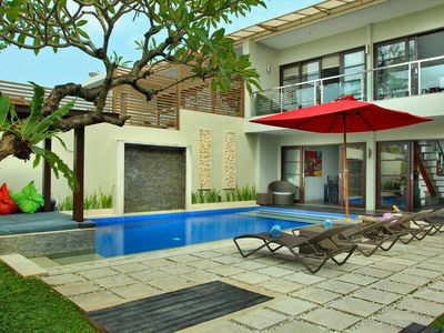 Photo for BALI REBORN (7) SEMINYAK VILLA 3BEDROOMS