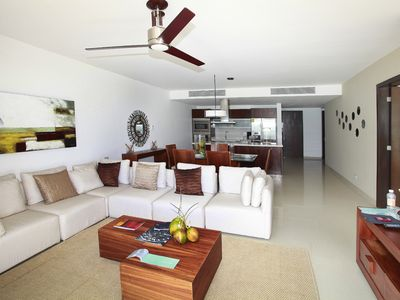 Photo for Ocean front development 2 bedroom condo with great amenities