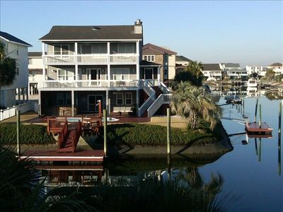 Photo for Top Shelf-Canal Waterfront-Private Pool- Golf Cart-2 Big Docks kayaks pool table