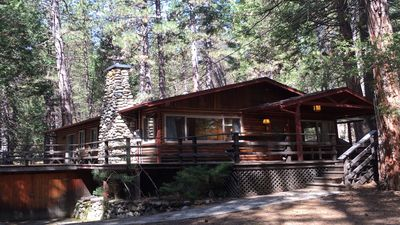 Photo for Log Cabin Nestled in the Pine Trees in Yosemite National Park
