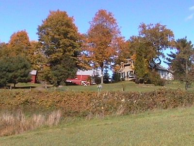 Photo for *Discounted weekly rates* Beautiful 52 acre Farmhouse! Catskills Family Getaway