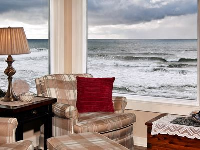 Photo for Oceanfront and close to beach , shops & restaurants.