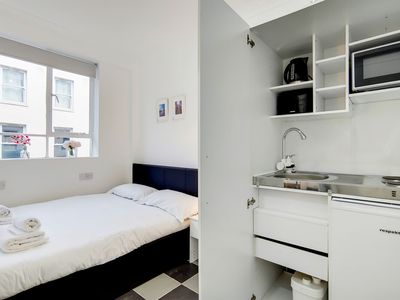 Photo for A bright, newly refurbished studio apartment located in the heart Soho and within walking distance t
