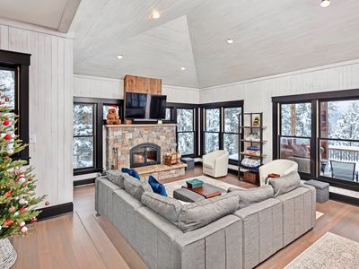 Photo for Whispering Pines Chalet, Luxury Ski-In & Ski-Out Perched Across from Whitefish Resort; Free Ski