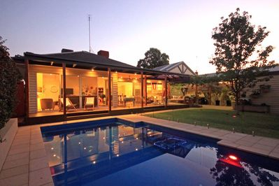 Solar Heated 8x4 Metre Salt Chlorinated Pool.  Secure fence. Hot outdoor shower!
