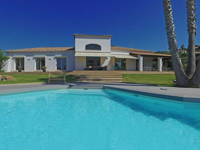 Photo for Luxury villa | Pool | Jacuzzi | Splendid sea view | very close beach