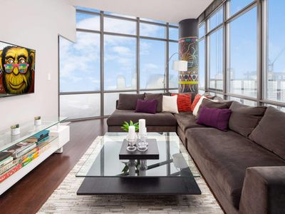 Photo for Eclectic Two-Bedroom Condo (Sky-High Views)
