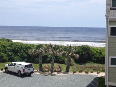 Photo for Fantastic ocean view condo just steps from the beach