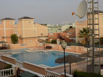 Photo for Two Bedroom, Three Bathroom Townhouse, Communal Pool, Wi-Fi, Aircon, Sat TV.