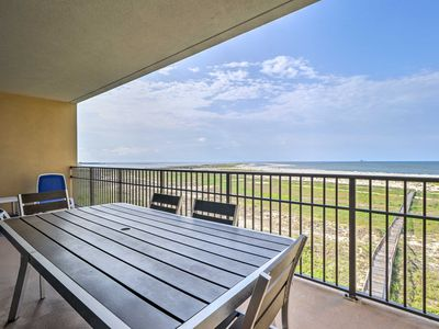 Photo for Beachfront Dauphin Island Condo w/ 2 Pools & Sauna