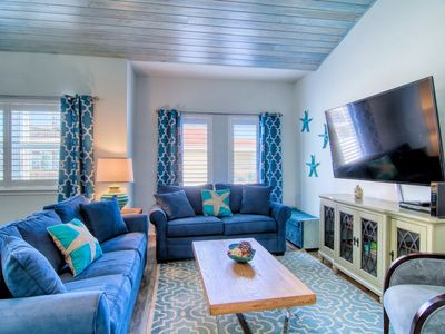 Photo for Turquoise Treashore: HEATED Pool with Palapa and Slide, Close to Beach, Pets