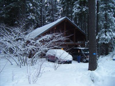 Winter Time - snow - snowmobiles, sleding, skis - oh, and warm fires!!
