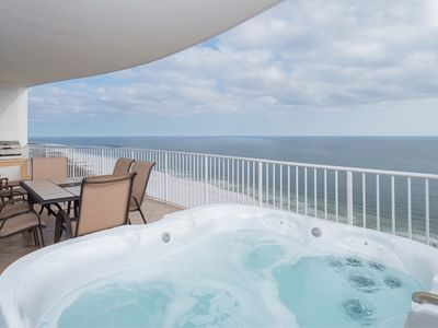 Photo for Book now for fall & beyond! PRIVATE Hot Tub; one-of-a kind Turquoise Place in OB