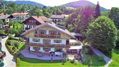 Photo for Bavarian Holiday Apartment in Tegernsee with Lake View, Balcony, Garden & Wi-Fi