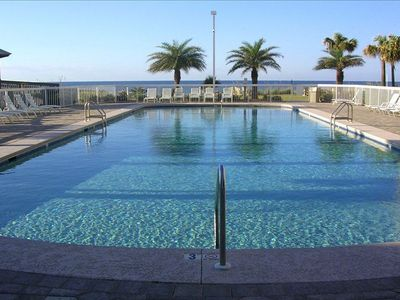 Photo for GULF FRONT  -  Lovely 2BR Beach Front Condo!   Seaside B&R Club #3703