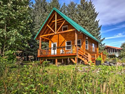 Photo for NEW! Private Lakefront Cabin in Stunning Seldovia!