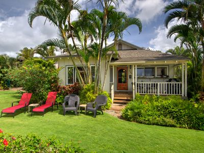 Photo for BABY BEACH BUNGALOW- STEPS TO SAND -OCEAN VIEW - AWESOME LOCATION NEAR SHOPS