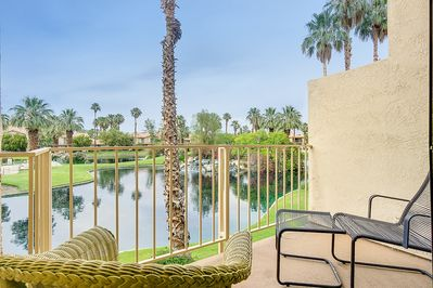 Balcony - Welcome to Palm Springs! Relax on the balcony with your morning coffee.