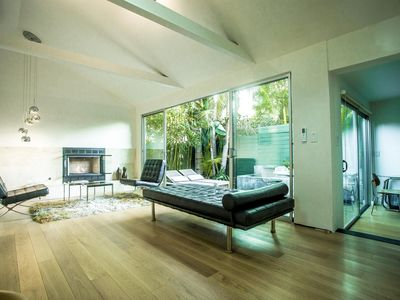 Photo for Venice Place - Private Modernist Guest House, 100% Solar. Steps to Rose Avenue and Whole Foods.
