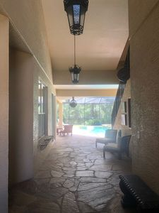 Photo for Entire Guest Suite with Separate Entrance steps from pool