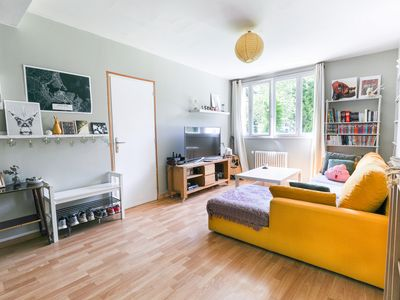 Photo for Bright room at the foot of the Gratte-Ciel Metro station