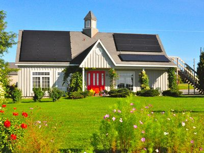Photo for 'The Grey Barn,  Gorgeous Solar House in The Finger Lakes, on the WineTrail