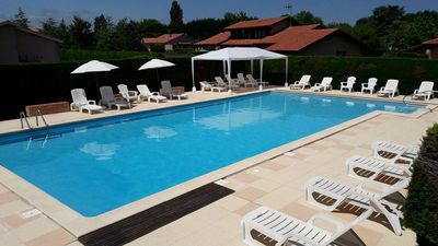 Photo for 4 * Les Genêts house for rent with swimming pool
