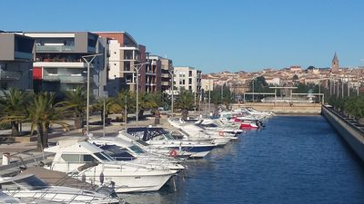 Photo for PORT FREJUS 500 M FROM THE BEACH, APARTMENT 2 TO 4 PEOPLE WITH TERRACE