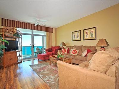 Photo for Comfortable Oceanfront Condo, Hard Wood Floors, Pools | Crescent Keyes - PH 07