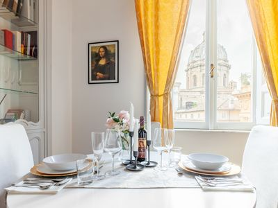 Photo for Leonardo Suite Elegant Navona with a view of Campo dei Fiori and Piazza Navona