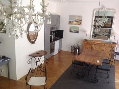 Photo for SPACIOUS T3, 85m2, 5 minutes 'PROM' CLIM, CENTER, WIFI