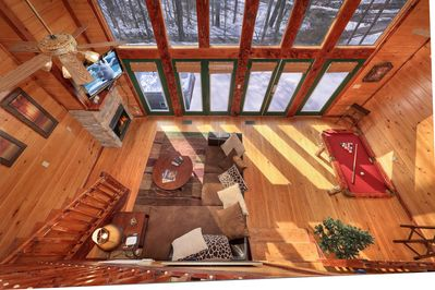 Secluded 1 Bedroom Cabin Bordering The Great Smoky Mountain National Park Gatlinburg