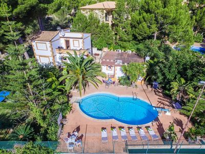 Photo for ☼ Sol de Mallorca 2 - Adorable apartment with pool and tennis court