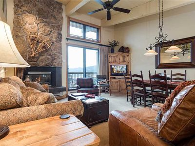 Photo for CA417 by Mountain Resorts: Updated Top Floor Condo with Amazing Views! Access to hiking Trail!