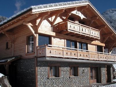 Photo for Individual chalet for 23 people in CHATEL Haute Savoie