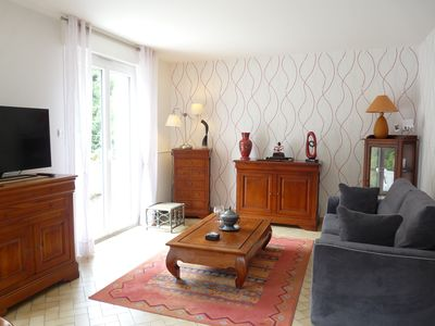 Photo for Le Clos Fleuri : Cottage with Tranquil Garden Setting in Historic Amboise