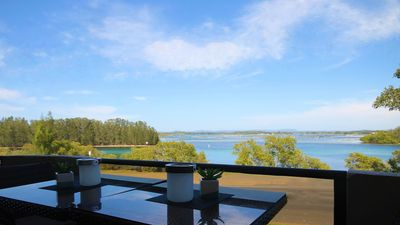 Photo for CHILL-OUT LAKESIDE @ FORSTER * sunsets * waterviews * cafes * beaches * shops