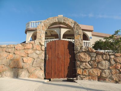 Photo for Lovely seaside apartment in the nice house within the nature park Velebit