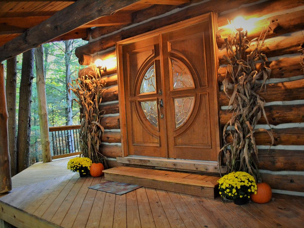 in we cabins adams east home at side best quality andersen page company pa over sale emphasize homes quantity for log