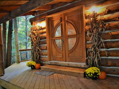 Secluded Cabin in the Woods of Pennsylvania