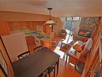 Photo for Appealing townhome with two adorable porches, on free shuttle route