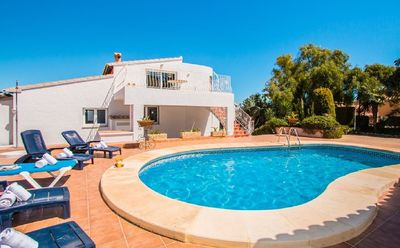 Photo for Villa located in Benissa, in the Fustera in one of the best areas