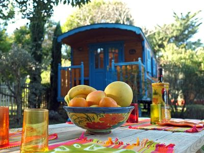 Photo for Charming trailer in the countryside of the French Riviera