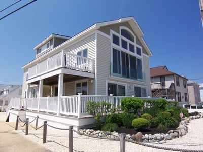 Photo for Brant Beach, 1 Off Ocean, 1st Fl. - 3BR, 2 Bath.  Perfect Family Rental
