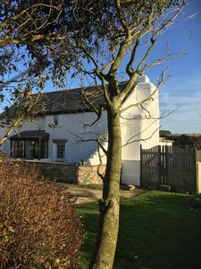 Photo for 17th Century Cottage Overlooking Porthtowan Valley Close to Beach