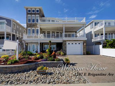 Photo for Exceptional Luxury Beachfront Home with Panoramic Ocean Views near Atlantic City