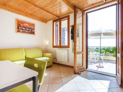 Photo for Cozy one bedroom studio with seaside view